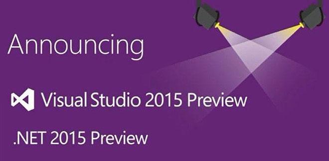 Microsoft Visual Studio 2015 14.0.22310.1 Preview Full Version Free Download